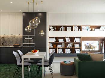 Пример 2-комнатной квартиры евро-формата